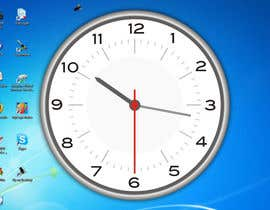 #35 for Design clock interfaces for windows desktop based clock af pappudeveloper