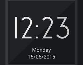 #16 for Design clock interfaces for windows desktop based clock af SatansRealCat