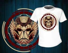 #10 for Design an ironman t shirt (helmet) af mj956