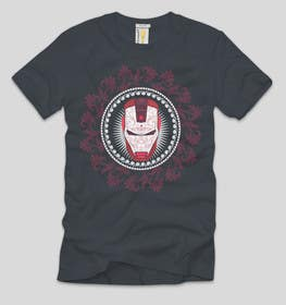 #6 for Design an ironman t shirt (helmet) af ezaz09