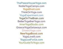#45 cho Need a brand name for yoga business bởi ImranBinIdrees
