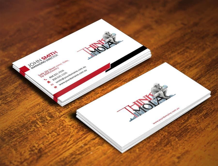Kilpailutyö #46 kilpailussa Design Business Cards for my company