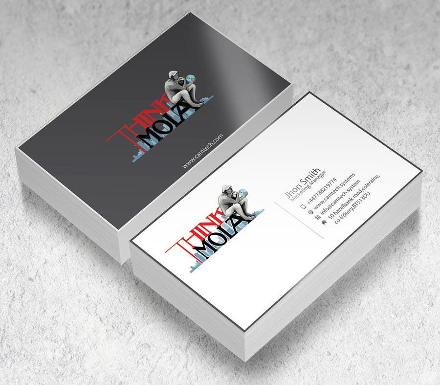 Kilpailutyö #39 kilpailussa Design Business Cards for my company