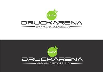#9 untuk Design eines Logos für die wm druckarena GmbH oleh sayuheque