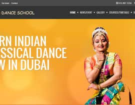 #13 untuk Build a Website for Indian Classical Dance School oleh puboinz