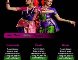 #1 untuk Build a Website for Indian Classical Dance School oleh tanvibathe