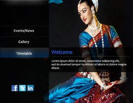 #6 untuk Build a Website for Indian Classical Dance School oleh tanvibathe