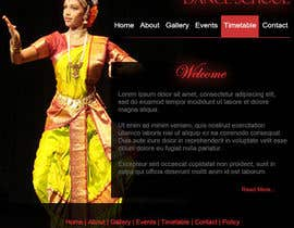 #9 untuk Build a Website for Indian Classical Dance School oleh tanvibathe