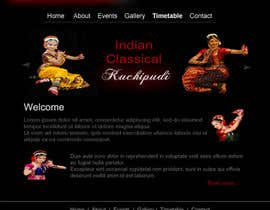 #15 untuk Build a Website for Indian Classical Dance School oleh tanvibathe