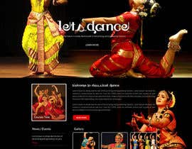 #7 untuk Build a Website for Indian Classical Dance School oleh webmastersud