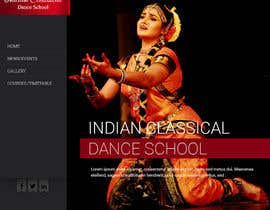 #4 untuk Build a Website for Indian Classical Dance School oleh amitwebdesigner