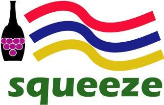 Penyertaan Peraduan #6 untuk Design a Logo for The Squeeze (wine & travel brand)