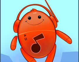 #118 za Mascot for new cool social music app. od CreativeAnimal