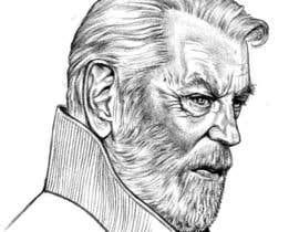 #57 for Old man illustration. by dkv4arts