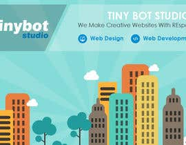 #9 untuk Design a Website Mockup for The TINY BOT STUDIOS oleh muhamedibrahim25