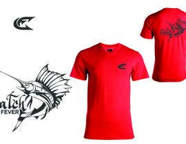 #111 untuk Design a cool fishing shirt for my company Catch the Fever oleh carloatienzahaga