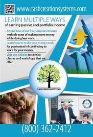 yaris196 tarafından Design a Flyer and Banner for Cash Creation Systems için no 2