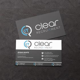 #22 for Recruitment Firm Business Card af rzr9