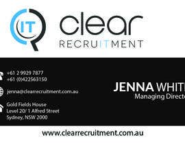 #27 untuk Recruitment Firm Business Card oleh rahulkejriwalrk