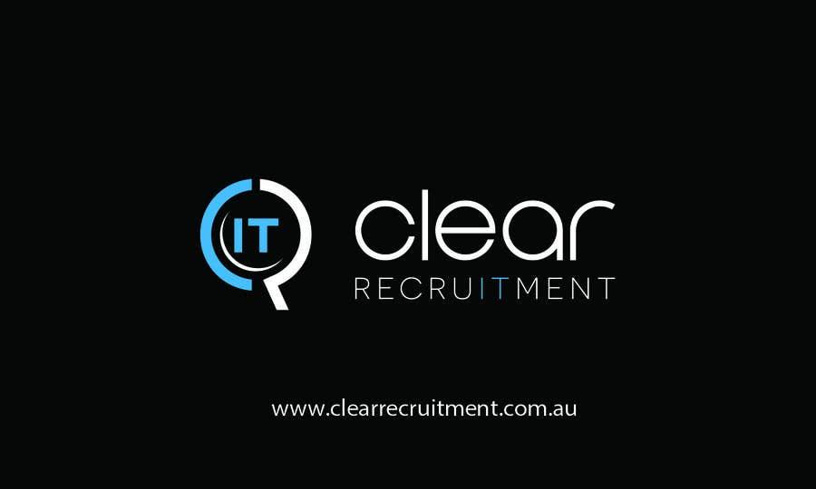 Penyertaan Peraduan #29 untuk Recruitment Firm Business Card