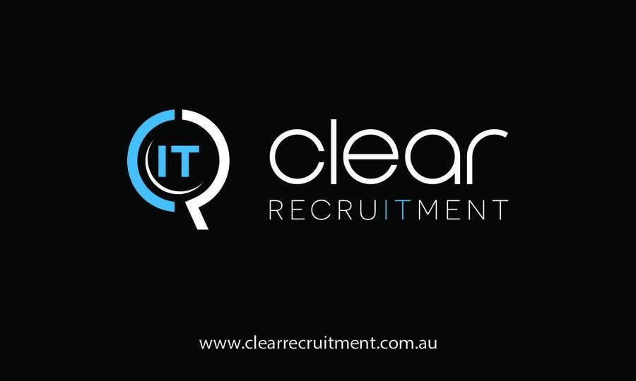 Penyertaan Peraduan #31 untuk Recruitment Firm Business Card