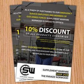 #24 untuk design a poster advertising discounts for emergency service members oleh goranjokanovic