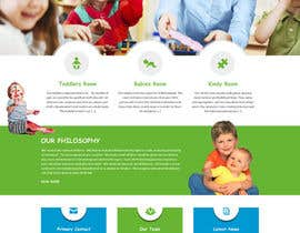 #13 cho Design a Website Mockup for A Child Care Centre bởi negibheji