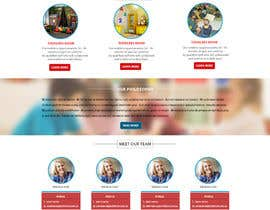 #22 cho Design a Website Mockup for A Child Care Centre bởi Shaktiman