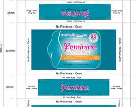 #6 untuk Create Print and Packaging Designs for Feminine (vaginal) freshness wipes oleh graphidesginer