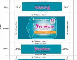 Nro 6 kilpailuun Create Print and Packaging Designs for Feminine (vaginal) freshness wipes käyttäjältä graphidesginer