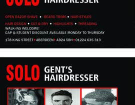 farrukhabbasidev tarafından Design some Business Cards for Solo hairdresser ( exact replica) asap için no 2