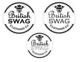 #32 untuk British Swag clothing co oleh jamjardesign