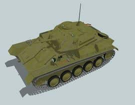 #1 for Do some 3D Modelling for futuristic combat tank af amdisenador