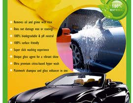#18 cho Design a Brochure for a local car wash / car detailing center bởi digitalparkpoy