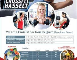 #8 for Ontwerp een Brochure for CrossFit Hasselt by patricashokrayen