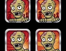 Nro 26 kilpailuun Design - 2D Zombie Game Icon käyttäjältä Bebolum