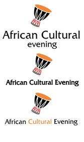 "#14 for Design a Logo for the ""African Cultural evening NY"" af darkavdarka"