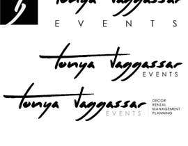 #151 for Design a Logo for Tonya Jaggassar Events by suff121