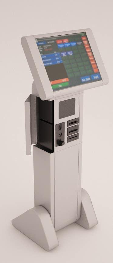 Kilpailutyö #37 kilpailussa Design me a Product for Touch screen kiosk