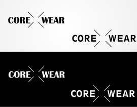 #125 untuk Design a Logo for Core X Wear Athletic Apparel oleh stoilova