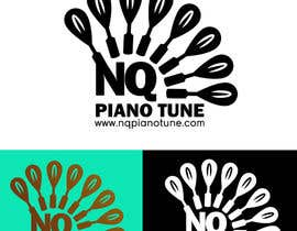 #24 para Design a Logo for NQ PIANO TUNE por ralfgwapo