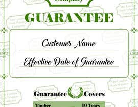 #3 for Design a customer guarantee form af desainroom