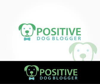 Nro 17 kilpailuun Design a Logo for Positive Dog Blogger käyttäjältä alikarovaliya
