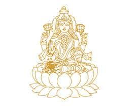 Nro 10 kilpailuun Elegant Business Logo consisting of Hindu Goddess Mahaalakshmi käyttäjältä Amtfsdy