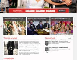 #4 for Template Wordpress for Photography Services / Template para wordpress para aluguel de cabine fotográfica af azzaldesigns