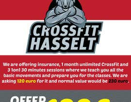 #36 for Ontwerp een Advertentie for Crossfit Hasselt af sandeshhr
