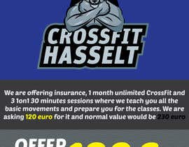 #37 for Ontwerp een Advertentie for Crossfit Hasselt by sandeshhr