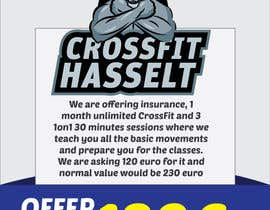 #38 for Ontwerp een Advertentie for Crossfit Hasselt af sandeshhr