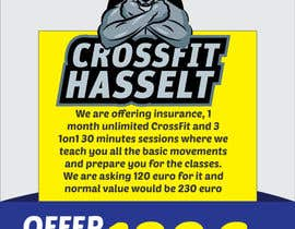 #39 for Ontwerp een Advertentie for Crossfit Hasselt af sandeshhr