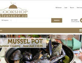 #20 for Design a Logo for www.cookshopclearance.co.uk af Carlitacro